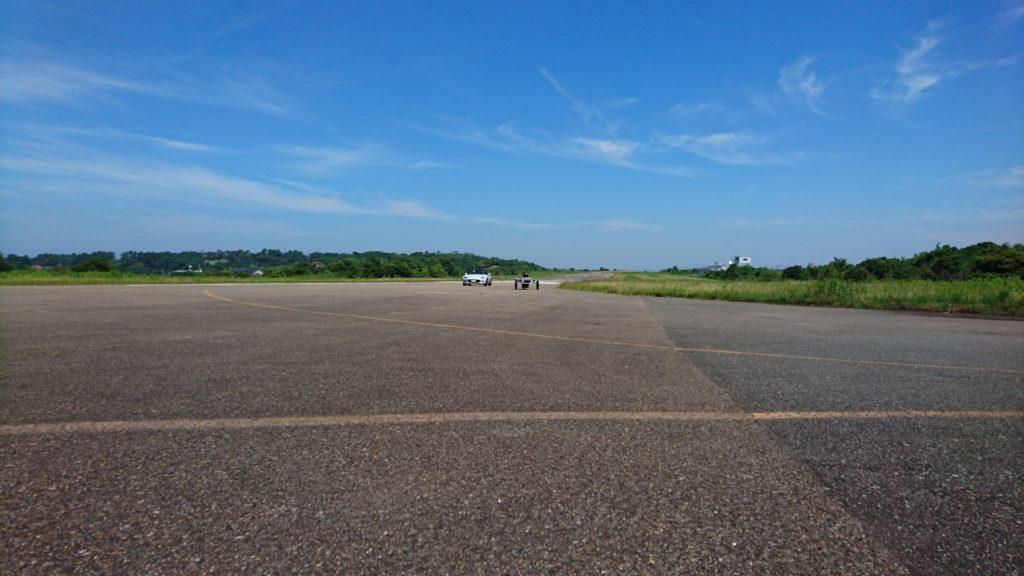 南紀白浜空港旧滑走路